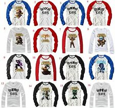 League of Legends!game character patterned cotton long-sleeved T-shirt Boy Girl
