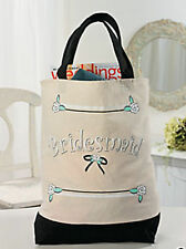 Bridesmaid Tote Bag Bridal Party Flower Girl Mother of Bride wedding gifts