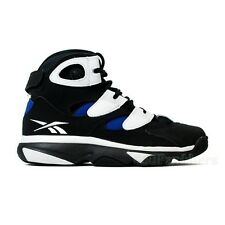 Reebok Shaq Attaq iv OG (BLACK/WHITE/TEAM DARK ROYAL) Men's Shoes M41972