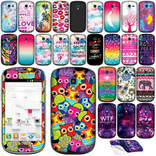 Vinyl Sticker Decal Cover Skin For Samsung Galaxy Exhibit T599 Phone, Aztec/ WTF