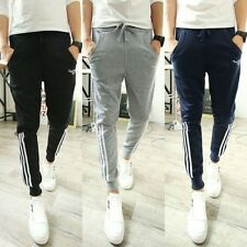 Men Slim Casual Harem Baggy Slim Sweat Pants Jogger Dance Taper Slacks Trousers