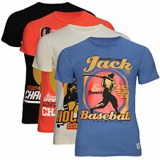 Jack & Jones Men's Run T-Shirt T - Shirt Slim Fit gr.s,m,l,xl