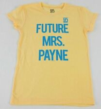 Juniors NEW Yellow One Direction 1D Future Mrs. Payne Liam T-Shirt Size XS S M