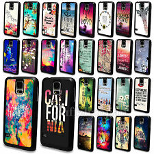 Various Dreamy Scenery Rigid Plastic Skin Case Cover For Samsung Galaxy S3 S4 S5