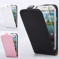 Genuine Luxury Real Leather Magnetic Flip Case Cover For Samsung Galaxy S3 I9300