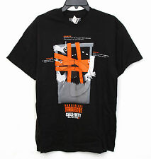 Mens Call of Duty Black Ops II 2 T-Shirt Barricades Surviving Zombies L  XL  XXL