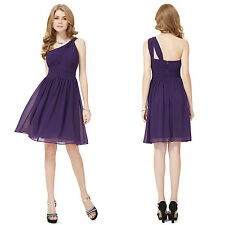 Ever Pretty New Ladies One Shoulder Short Cocktail Party Bridesmaid Dress 05109