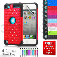 NEW TWINKLE STAR SHOCK PROOF DIAMOND CASE FOR APPLE IPOD TOUCH 5 /5th Generation
