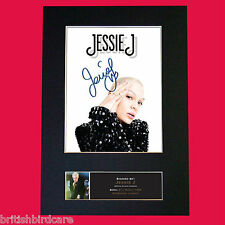 JESSIE J #2 Signed Autograph Quality Mounted Photo Repro A4 Print 499