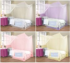 4 Corner Poster Student Family Use Canopy Bed Mosquito Net Twin Full Queen King