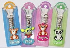 H&H Personalised Zipper Pals - Attach to Coats & Bags - Limited Range of Names