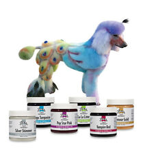 CHOOSE FROM 17 COLORS - PET HAIR DYE - GROOMING DOG CATS - 4 OZ