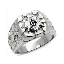 Worth Edgy Collection Men's Fashion Stainless Steel Ring Size 9 10 11 12 13