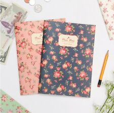 Pour Vous Blooming Cash Book Money Record Planner Account Scheduler Organizer