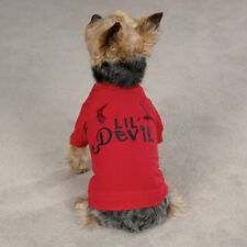 ANY SIZE - LIL' DEVIL - DOG PUPPY SHIRT TEE - RED