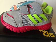 Adidas Toddler Girls Fluid Conversion CF I Shoes Size 5,6