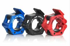 Lock-Jaw Olympic Barbell Collar - PAIR - Powerlifting Barbell Collar - 2 INCH