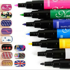 New Multi-color Drawing Gel Easy Made Nail Art Color Pen Painting Design Tool