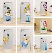 New eating apple cartoon Soft Silicone Back Case Cover For Apple Iphone 5 5S