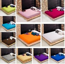 Pure Luxury Cotton Soft Bed Fitted Sheet