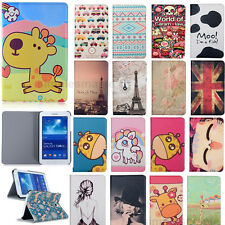 """Cute Flip Leather Case Cover Stand for Samsung Galaxy Tab S 8.4 8.4"""" T700 T705"""