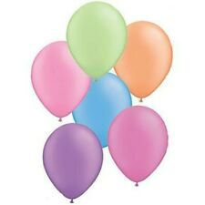 Hot Neon Colours Latex 27.9cm Qualatex Balloons x 5 - You Choose The Colour
