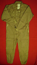 ARMY AFV OVERALLS COVERALLS BRITISH ARMY DESERT SAND COLOURED **NEW UN-ISSUED**