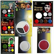 FACE PAINT ZOMBIE VAMPIRE HALLOWEEN MAKEUP MAKE-UP WITCH DEVIL RED WHITE BLACK