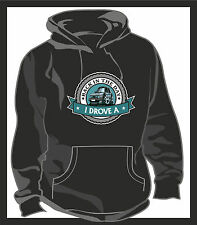 KOOLART BACK IN THE DAY I DROVE A Mk2 VW Golf GTi Unisex Hooded Top Hoodie Blk