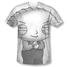 Family Guy Stewie Head - Juniors T-Shirt - Sublimation (Front Only) Vintage Fade