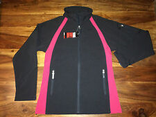 BNWT Ladies Finden and Hales LV621 Softshell Jacket. Black/Red in 4 sizes. E.