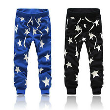 Mens Unisex Hip Hop Sweat Pants Harem Dance Jogger Baggy Casual Trousers Slack