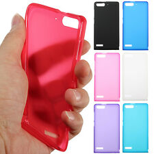 Ultra Thin Slim Matte TPU Gel Silicone Back Cover Case Skin For HuaWei Ascend G6