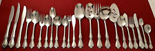 Oneida Oneidacraft Deluxe CHATEAU Glossy Stainless Silverware Flatware CHOICE!