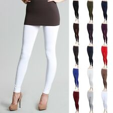 High Quality Seamless Basic Solid Leggings Good Stretch Nylon Spandex ONE SIZE