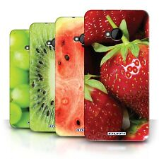 STUFF4 Back Case/Cover/Skin for HTC One/1 M7/Fruit