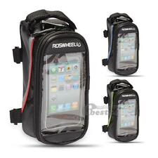 ROSWHEEL Bike Bicycle Cycling Frame Pannier Front Tube Phone Bag Pouch