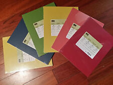"Stampin Up CARDSTOCK Pk 8-1/2"" x 11"" In Color '12-'14 (New & Sealed) - U Choose"