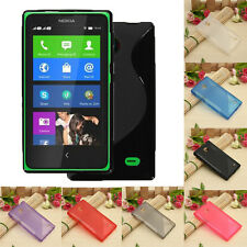 S Line Soft TPU Gel Silicone Case Cover Skin For Nokia Normandy/X A110/Dual SIM