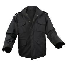 Rothco Soft Shell Tactical M-65 Jacket, Black