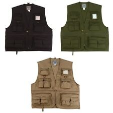 Uncle Milty Travel Vest, Photographer Vest with 17 Pockets
