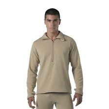Mens ECWCS Gen II, Level II Thermal Underwear Shirt, Sand