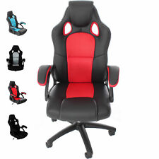 Executive Racing Style CHAIR Luxury Office High Back Support with Tilt Lock