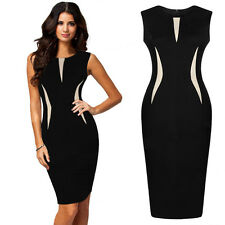 1PC Sexy Women Sleeveless Fashion Bodycon Party Cocktail Pencil Dress Perfect