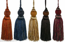 "DELPHI TRIMMING BEADED KEY TASSEL 10"" #AONEG *GW* 5 COLOURS"