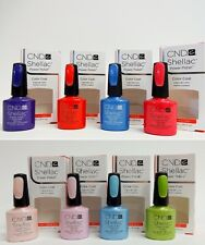 CND Creative Nail SHELLAC Soak Off Gel Polish Assorted Spring Colors Variations
