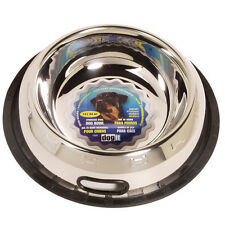 Hagen Dogit STAINLESS STEEL NON SPILL DOG DISH Bowl  3 Size Choices
