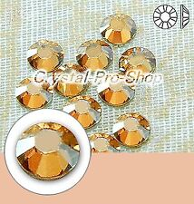 GENUINE Swarovski Golden Shadow (GSHA) Crystal Flatback ( No Hotfix ) Rhinestone