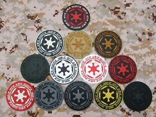 STAR WARS IMPERIAL Galactic Empire Logo Military Morale 3D PVC Velcro Patch