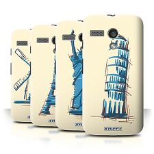 STUFF4 Back Case/Cover/Skin for Motorola MOTO G (2013)/Landmarks